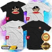 Paul Frank Pirate T-Shirt Brand Men Women Small Big Size Fashion Casual Cotton Kaos Baju Summer Tee Clothes Idean S913