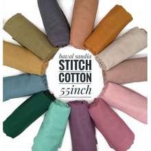 SAUDIA Bawal Cotton Stitch Bidang 55