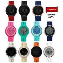 Reebok [Free Ship] Guarantee New Watch Rd-Ele-G9 Digital Silicone Material 10Atm