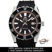 Orient FAC09003B AC09003B Mens Automatic Sports 200M Black Rubber Strap Watch