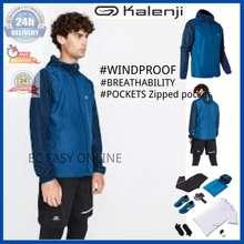 Kalenji Decathlon Men'S Jogging Hiking Sport Jacket Windbreaker - Prussian Blue