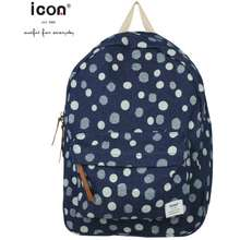 Icon Denim Circle Series High Quality 100% Cotton Durable Backpack