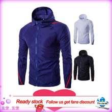 Free Shipping Men'S Biker Wind Rain Coat Jacket Outdoor Fishing Raincoat