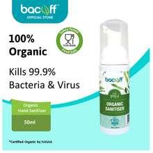 Bacoff Organic Sanitizer Alcohol Free Hand Sanitiser Spray (Anti Bacteria)(50Ml)