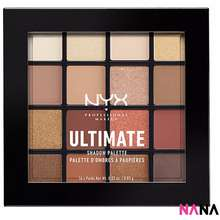 NYX Cosmetics Ultimate 16 Colors Eye Shadow Palette - 03 Warm Neturals
