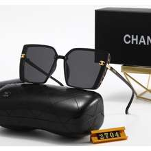 2021 New European And American Trends !Chanel! Branded Sunglasses For Men And Women Original Polarized Sunglasses (With Glasses Case And Box)
