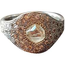 De Beers White gold ring