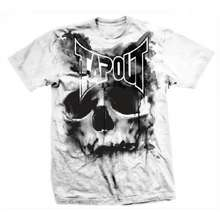 Tapout SKULL DRIP MENS T-SHIRT - WHITE