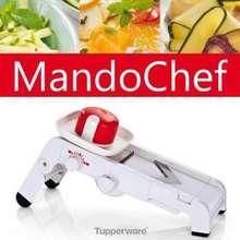 Tupperware TUPPERWARE NEW MANDO CHEF MANDOLINE WITH EXTRA BLADE & CUTTING MATE