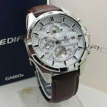 Watch Luxury Casio_Edifice 556 Chronograph All Function Stainless Steel
