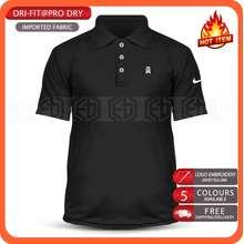 Nike Dry Fit Tick ✔️ Golf Tw Microfiber Unisex Polo T Shirt Tee Tiger Wood Ball Iron Baju T-Shirt Shirts Pakaian Murah Sale