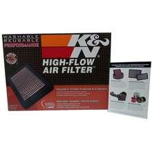 K&N [100% Original] High-Flow Air Filter (33-3045)