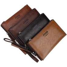 Jeep Leather Clutches Men Wallet Boss Bags Vintage Handbags