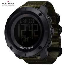 North Edge 🤩Smart 🤩 Men'S Sports Digital Watch Hours For Running Swimming Military Army Watches