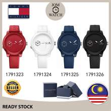 Tommy Hilfiger [100% Original] Sport Silicone Strap Men Watch Jam Tangan Lelaki 1791323 1791324 1791325 1791326 1791322