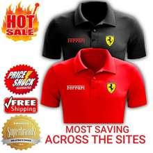 Ferrari 🔥Selling Fast: Scuderia Mens Polo Collar T-Shirt🔥