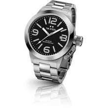 TW Steel * Clearance Offer * Watch Cb401 40Mm Canteen Date Ss Bracelet Black *Original