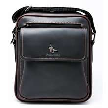 Polo [New Colour] Mens Faux Leather Crossbody Messenger Bag M-Phsb-1560