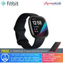 Fitbit Sense Health and Fitness Watch -Carbon/Graphite FB512BKBK [Free 10000 Mah Power Bank]