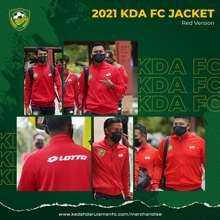 Lotto KDA FC 2021 JACKET - RED