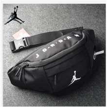 Nike [Malaysia Ready Stock] Air Jordan Waist Bag Fanny Pack Chest Bag Travel Casual Bag