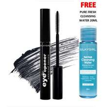 SILKYGIRL Eye Opener Waterproof Mascara - Black / Party Blue / Violet