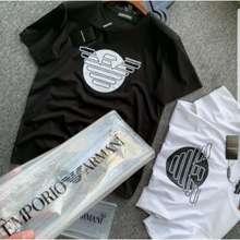 Armani (Ready Stock)Armani Men'S & Women Unisex Short-Sleeved T-Shirt