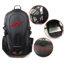 Alpinestars Original Motorcycle Riding Backpack Helmet Carrier Laptop Bag Waterproof Backpack With Rain Cover