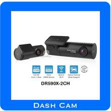 BlackVue Dr590X-2Ch Full Hd Wifi Simple Dual Full Hd Wi-Fi DashCam With Sony'S Starvis