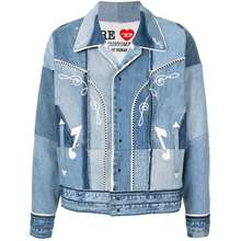 Diesel Red Tag X Readymade Patchwork Denim Jacket Blue