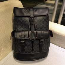 Coach 50044 New Type Travel Backpack With Men'S Shoulder Pack And Double Pockets