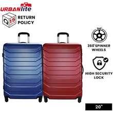 """Urbanlite 20 Ledge 20"""" Hard Case Spinner Wheels Luggage Ulh 8935"""