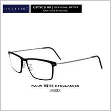 Lindberg N.O.W 6544 Black Denmark Eyeglasses Prescription Glasses