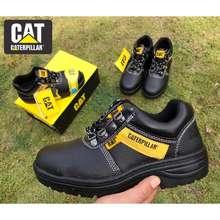 Caterpillar Top Caterpillar Workshop Safety Boot / Kasut Safety Shoes Cat Us Teknologi Berkualiti