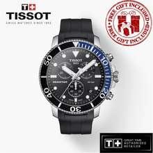 Tissot T120.417.17.051.02 Gent'S Seastar 1000 Chronograph Silicone Rubber Watch