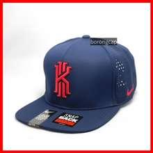 Nike /Kyrie Irving Ki Dry Fit Perforated Trucker Hat Flat Brim Cap