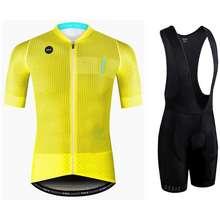 Giant New Summer Men Gobik Team Breathable Short Sleeve Cycling Jersey Set