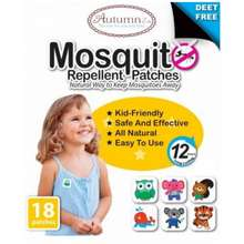 Autumnz Mosquito Repellent Patches (18 Patches/Pack)