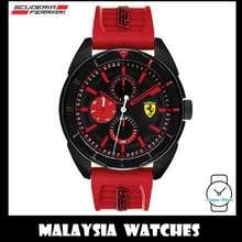 Ferrari (100% Original) Scuderia Men'S 0830576 Forza Watch (Black & Red)