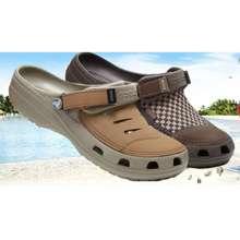 Crocs Mens Yukon Clog Half Leather Beach Sandals(Preorder)