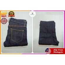 Uniqlo Men'S Slim Fit Jeans Dark Blue Size 31 (79Cm)