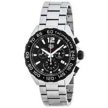 TAG Heuer Formula 1 Caz1010.Ba0842 / Chronograph / Quartz / 43Mm / Ss Bracelet / Black / Genuine