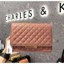 CHARLES & KEITH Ready Stock Malaysia🇲🇾Charles Keith Quilted Chain Bag