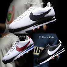 Nike 🌟Ready Stock🌟2021 Classic Cortez Leather Shoes Soft Sole Fast Running