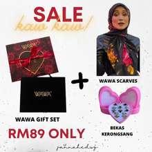 Wawa Cosmetics 🔥Readystock🔥 💯 Original Hq Wawa In Black Gift Set (Love Edition 2.0) Wawa Cosmetics (With Extra Free Gift)