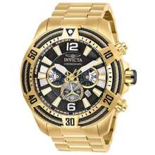 Invicta Bolt Gold-Tone Chronograph Men'S Watch