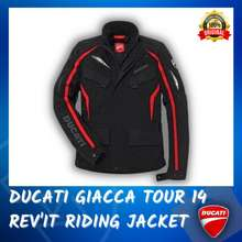 Ducati Baju Hujan Motosikal Giacca Tour 14 Rev'It Riding Jacket