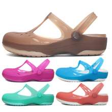 Crocs Original Women Sandal Mary Jane Thick Bottom Cute Ready Stock [202455]