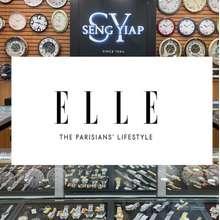 ELLE Hot Sales* Stock Clearance 100% Original Ladies Women Ladies Watch Stainless Steel Leather Watch Jam Tangan Wanita