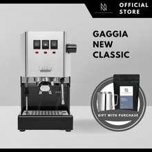 Gaggia [Ready Stock] New Classic 2021 Semi-Automatic Espresso Coffee Machine